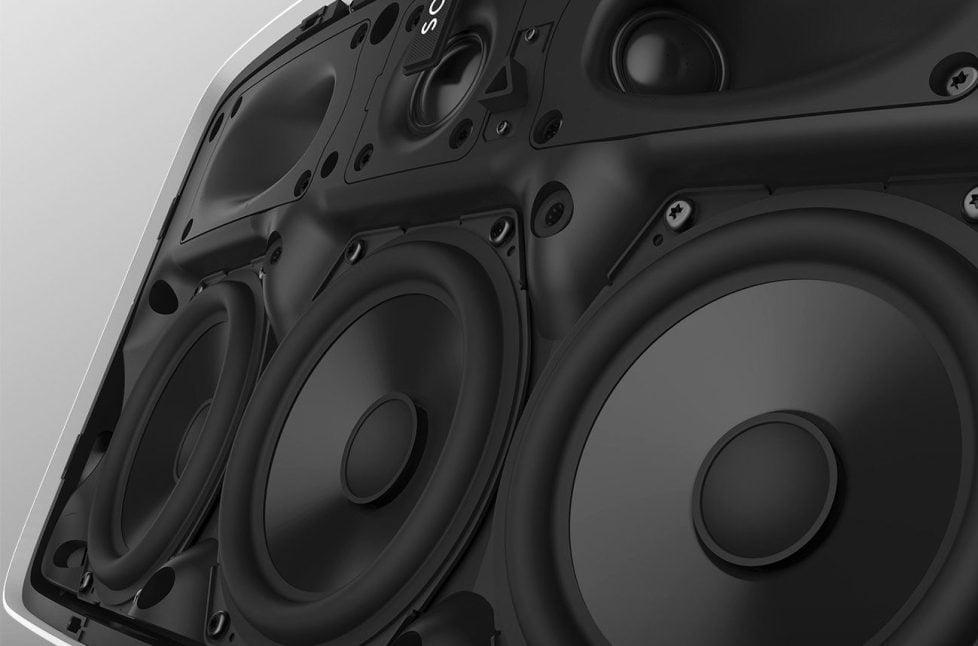 Sonos Play 5: transductores
