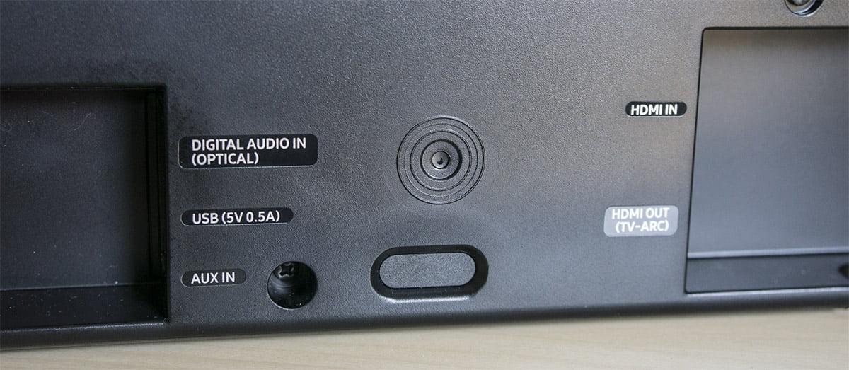 Samsung HW-K550 - conexiones