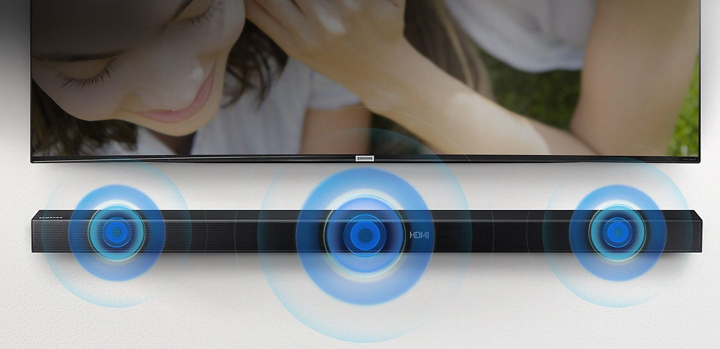 Samsung HW-K550: Sonido