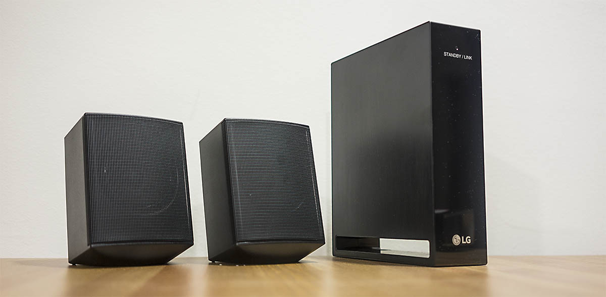 LG SJ4R: kit de altavoces surround