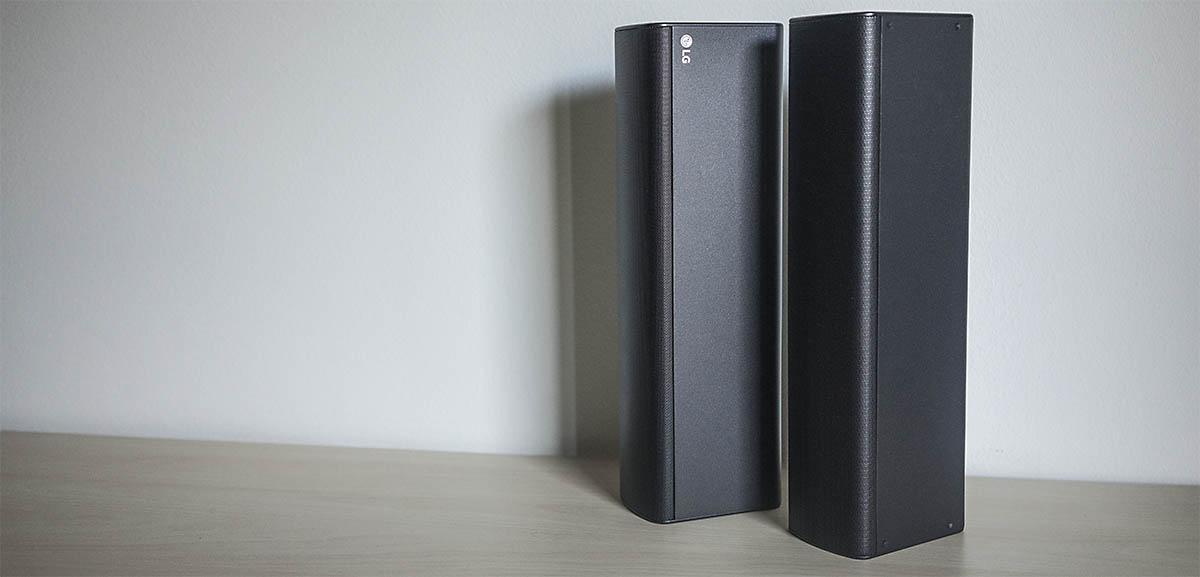 LG SJ7: Altavoces