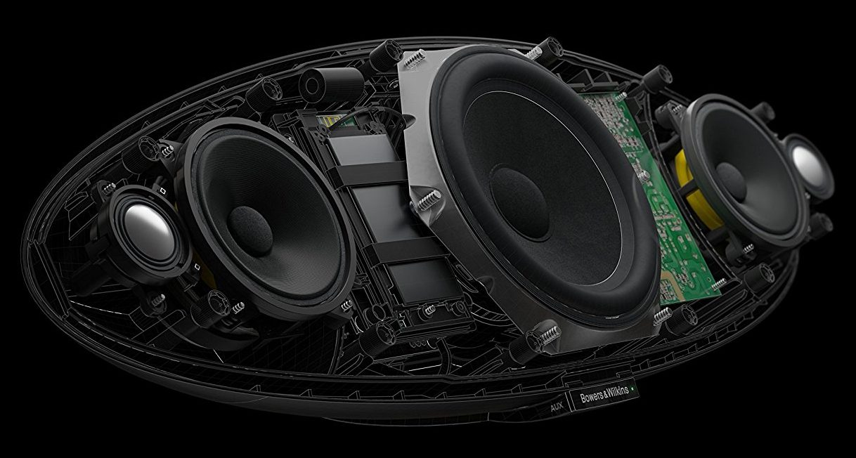 Bowers & Wilkins Zeppelin Wireless: Transductores