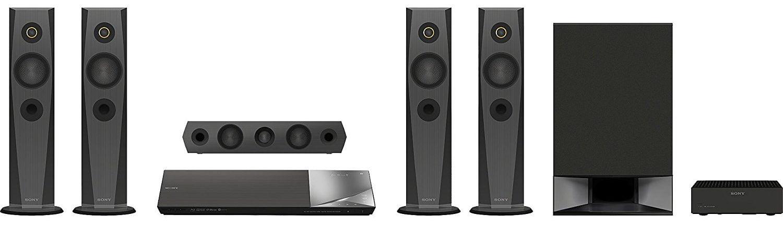 Los mejores altavoces 5.1 con receptor AV incluido: Sony BDVN7200