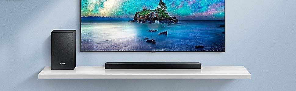 Las mejores barras de sonido: Samsung HW-N450
