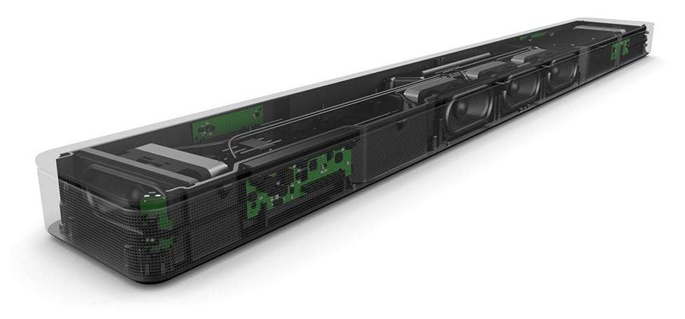 Bose Soundbar 500: Transductores