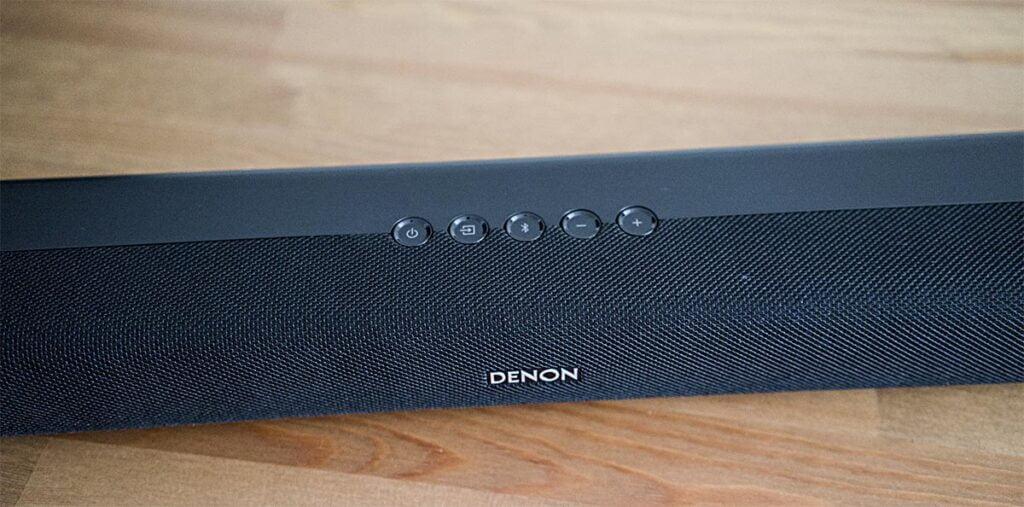 Denon DHT-S316: Botones